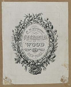 S. P. Avery, Engraver on Wood